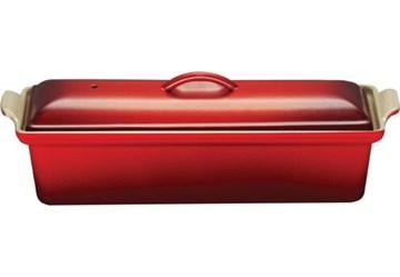 Imagen de Terrina rectangular cereza 32cm