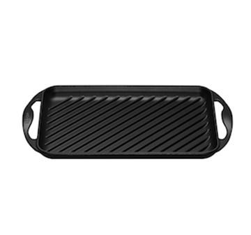Imagen de Grill rectangular negro 32.5x22cm