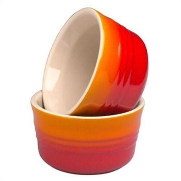 Imagen de Set dos ramequins cerámica gres volcánico