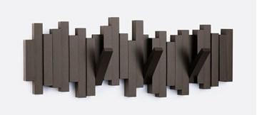 Imagen de Perchero de pared espresso x5 STICKS