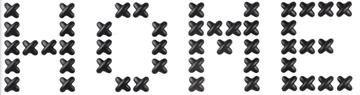 Imagen de Decoración de pared negro x40 CROSS STITCH