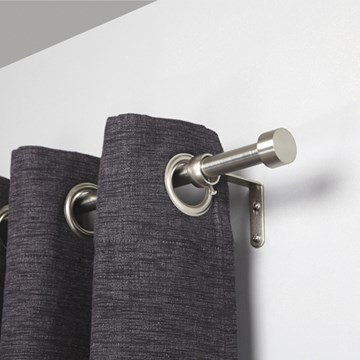 Imagen de Barra para cortina CAPPA níquel 183-366 cm
