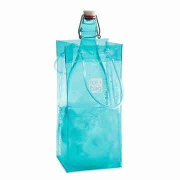 Imagen de Bolsa para 1 botella turquesa BASIC
