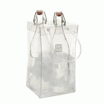 Imagen de Bolsa para 2 botellas XL transparente BASIC