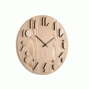 Imagen de Reloj de pared natural SHADOW
