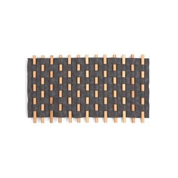 Imagen de Decoración de pared carbón LOOMA