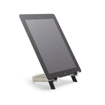 Imagen de Soporte tablet negro/níquel UDOCK