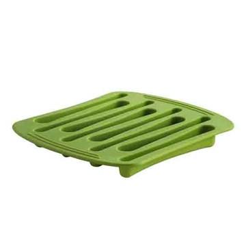 Imagen de Molde hielo forma cucharas verde
