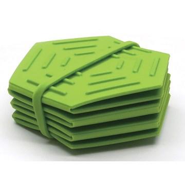 Imagen de Salvamantel plegable verde
