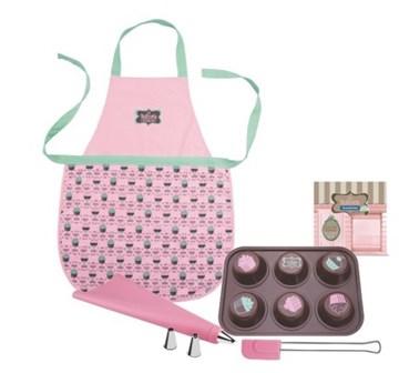 Imagen de Kit para cupcake de 7 piezas La Pasticceria