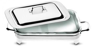 Imagen de Soporte rectangular con vidrio y tapa