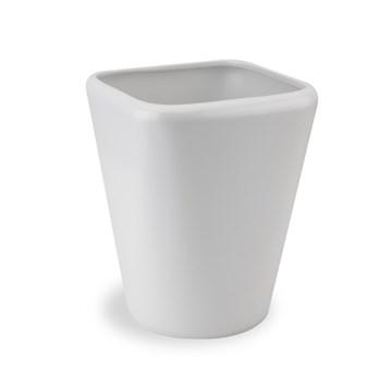 Imagen de Papelera modelo KONA de color blanco