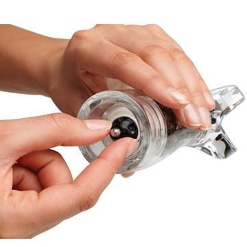 Imagen de Molinillo pimienta transparente RELISH