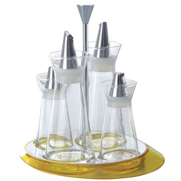 Imagen de Set de condimentos amarillo GLAMOUR