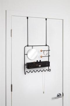 Imagen de Organizador accesorios s/puerta-pared negro ESTIQUE