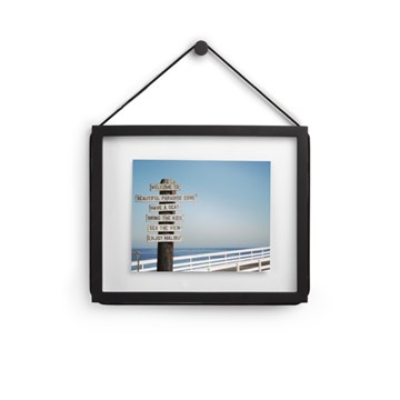 Imagen de Portarretratos pared 20x25cm negro CORDA