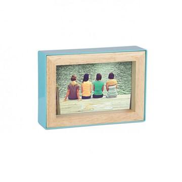 Imagen de Portarretratos 10x15cm azul surf FOTOBLOCK