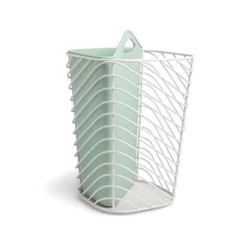 Imagen de Papelera para reciclar  blanco/menta  COUPLET