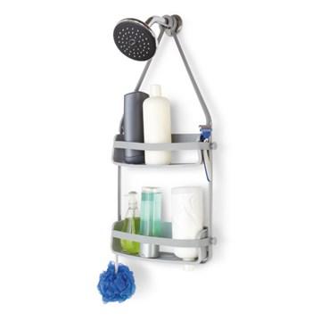 Imagen de Organizador para ducha gris FLEX