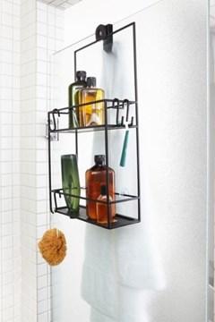 Imagen de Organizador de ducha negro CUBIKO