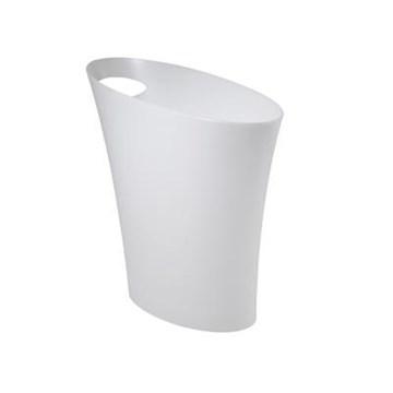 Imagen de Papelera blanco metalizado 7.5L SKINNY