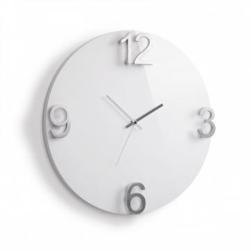 Imagen de Reloj de pared blanco ELAPSE
