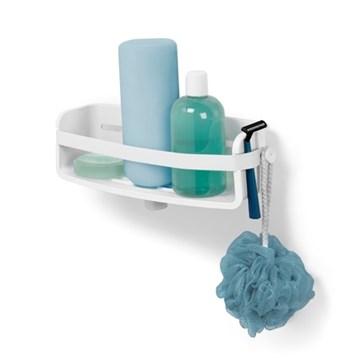 Imagen de Estante para baño blanco FLEX-GEL