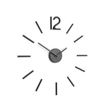 Imagen de Reloj pared negro BLINK
