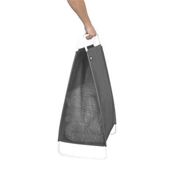 Imagen de Cesta ropa sucia gris/blanco CINCH