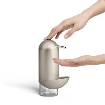 Imagen de Dispensador jabón c/esponja nickel PINGÜINO