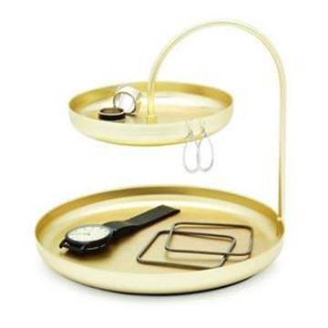 Imagen de Organizador accesorios bronce POISE