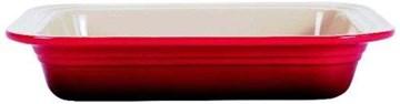 Imagen de Fuente rectangular cereza 25x31cm