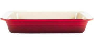 Imagen de Fuente rectangular cereza 34x39cm