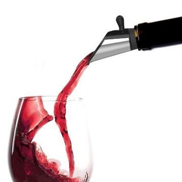 Imagen de Set 2 tapones vertedores p/vino acero inox.