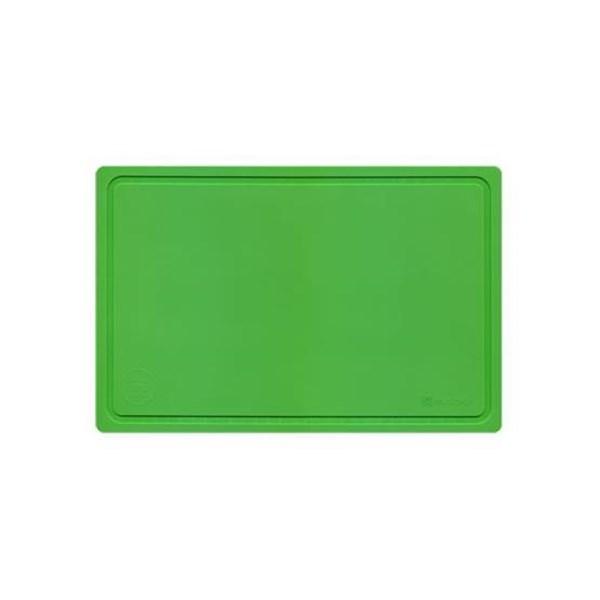 Picture of Tabla para picar 38x25x0.4cm verde