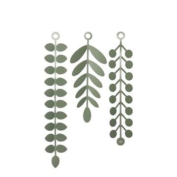Imagen de Decoración pared verde VINES