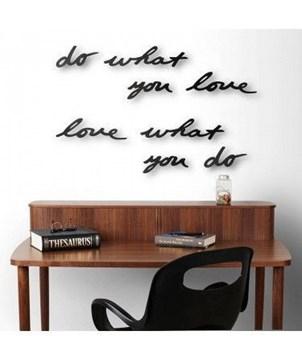 Imagen de Decoración pared negro MANTRA LOVE