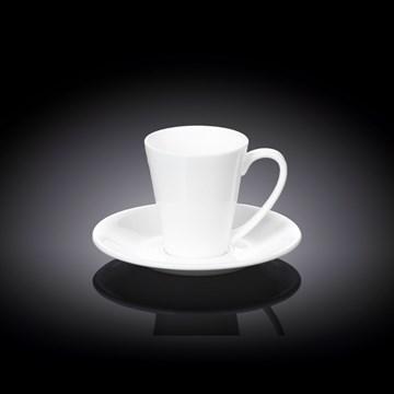 Imagen de Taza café c/plato 110ml FINE