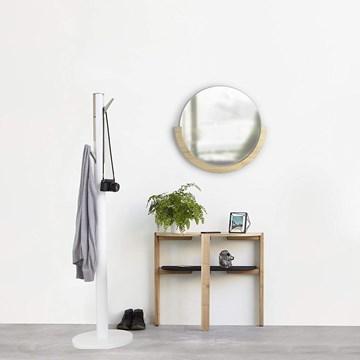 Imagen de Espejo redondo madera MIRA