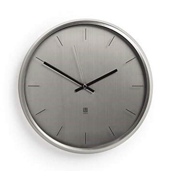 69b110b585b1 OGA - Home Design Products. Reloj pared 32cm nickel META