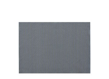 Imagen de Individuales antimanchas raya azul x2