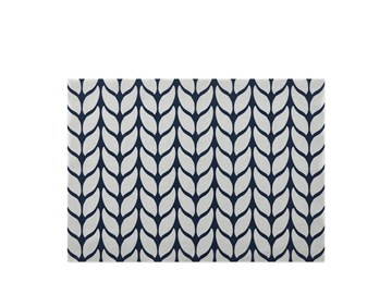 Imagen de Individuales antimanchas soft wool azul x2