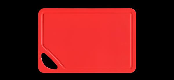 Picture of Tabla para picar roja 26X17X0.2cm