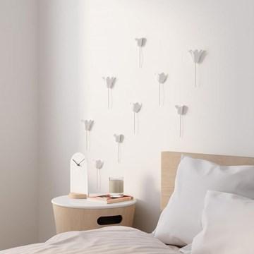 Imagen de Decoración pared blanco x9 BLOOMER
