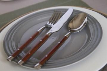 Imagen de Caja 12 cuchillos mesa RUSTIC