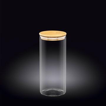 Imagen de FRASCO CON TAPA BAMBOO 1500ML THERMO GLASS